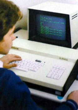 Colégio ETAPA - Aulas de Informática em 1982